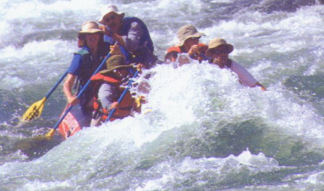 Rafting the Deschutes; Labor Day 2002